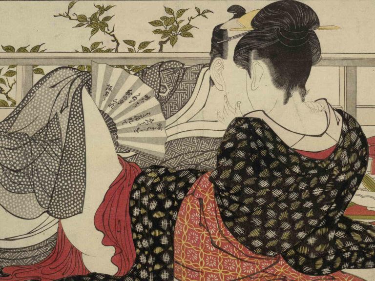 Ukiyoe: Erotik, Kunst und Fan-Art für ein Massenpublikum